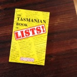 Front cover of The Tasmanian Book of Lists! by Bill Cromer